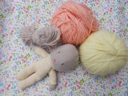 poupée laine