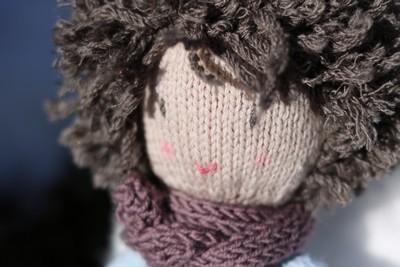 poupée tricot enfant
