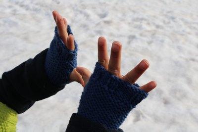 mitaines enfants tricot facile gratuit