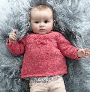modèle tricot layette