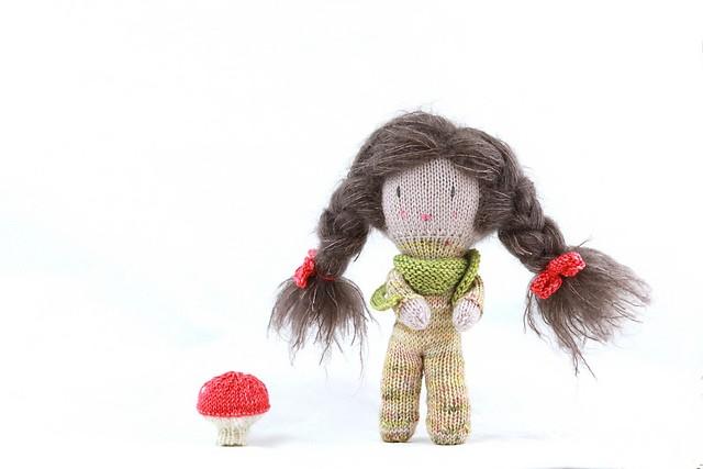 tricot jouet poupée