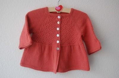 brassière bébé tricot chic