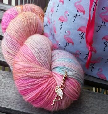 sac à projet tricot