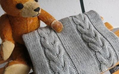 tricot couverture pour bébé