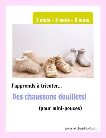 chaussons douillets bébé