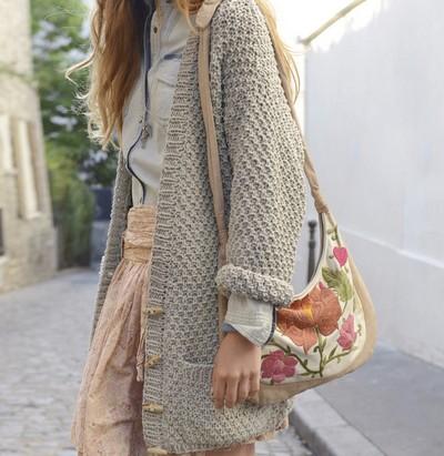 modèle veste tricot femme gratuit