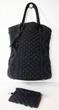 sac tricot modèle patron