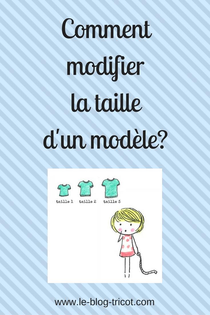 Commentmodifierla tailled'un modèle_