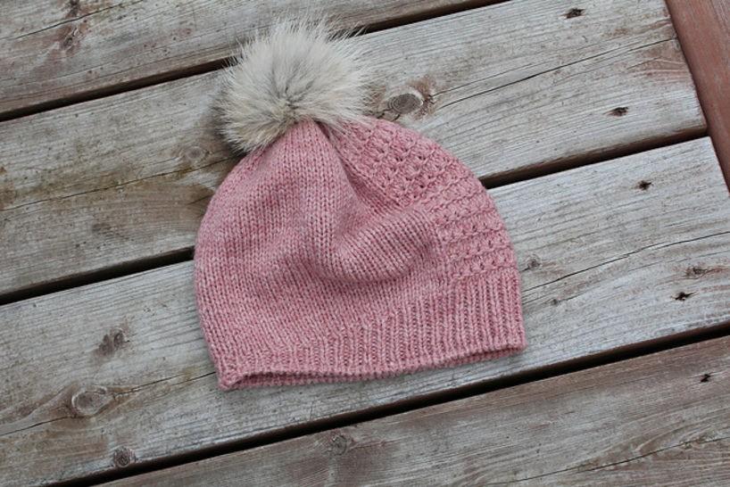 bonnet rosa