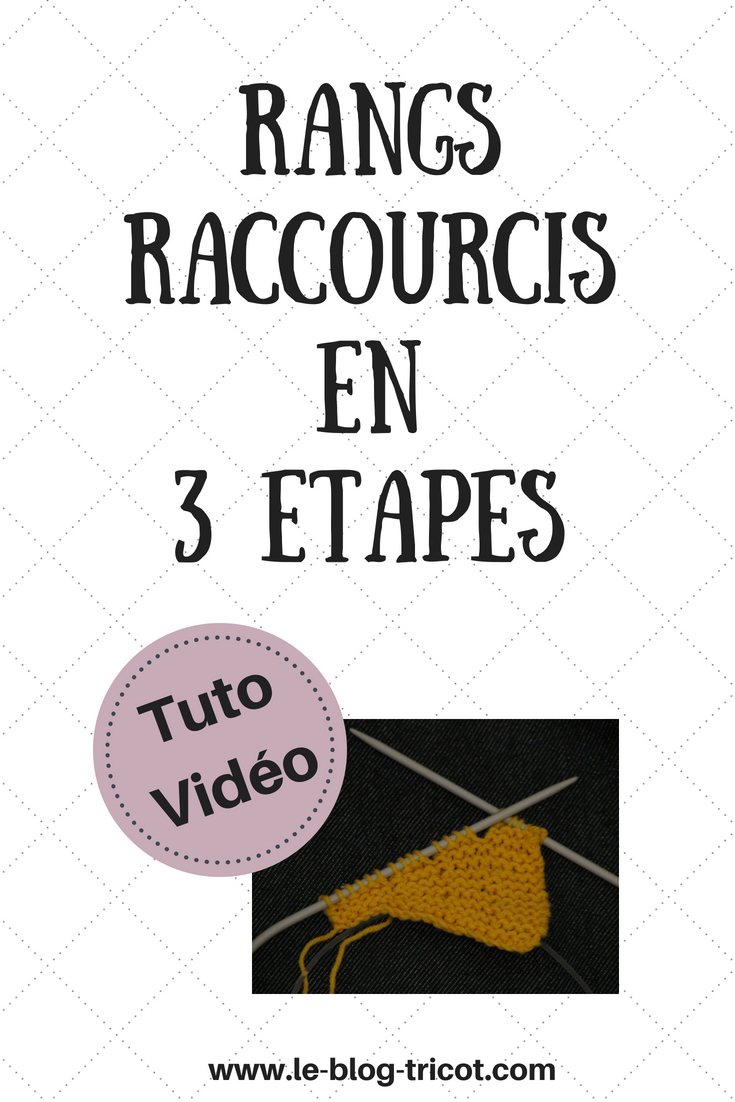 rangs raccourcis en 3 étapes