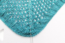 bloquer un tricot