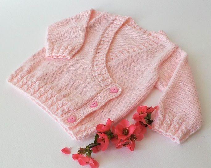 cache coeur thali tricot layette