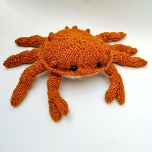 crabe tricoté